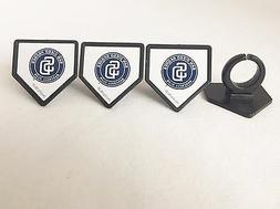 12 San Diego Padres MLB Baseball Cupcake Rings Toppers Decor