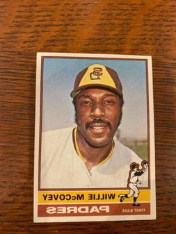 1976 topps baseball 520 willie mccovey san