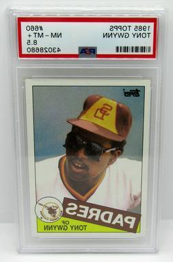 1985 Topps Tony Gwynn San Diego Padres #660 Graded PSA NM-MT