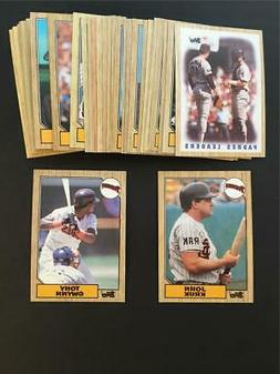 1987 Topps San Diego Padres Team Set With Traded 36 Cards