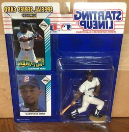 1993 Gary Sheffield San Diego Padres Starting Lineup in pkg