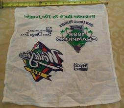 1998 MLB World Series San Diego Zoo Pepcid AC Padres Rally T