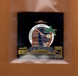 1998 NL CHAMPIONS SAN DIEGO PADRES LAPEL PIN Mint on pkg UNS