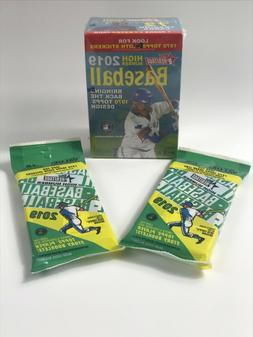 🔥2019 Topps Heritage High Number Blaster Box & 2 Fat Pack