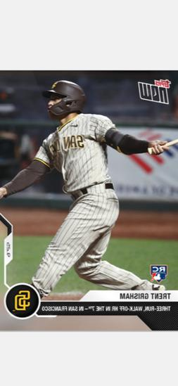 2020 TOPPS NOW ROOKIE CARD SAN DIEGO PADRES TRENT GRISHAM #3