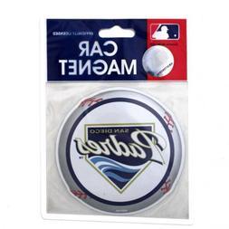 "4"" San Diego MLB Padres Baseball Logo Team Car Magnet Refrid"