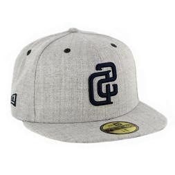 New Era 5950 San Diego SD Padres Fitted Hat  Men's Cap