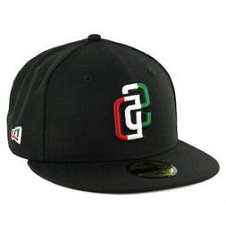 "New Era 59Fifty San Diego Padres ""Mexico Tricolor"" Fitted Ha"