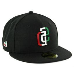 """New Era 59Fifty San Diego Padres """"Mexico Tricolor"""" Fitted Ha"""