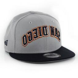New Era 9Fifty San Diego Padres Woodmark Snapback Hat  Men's