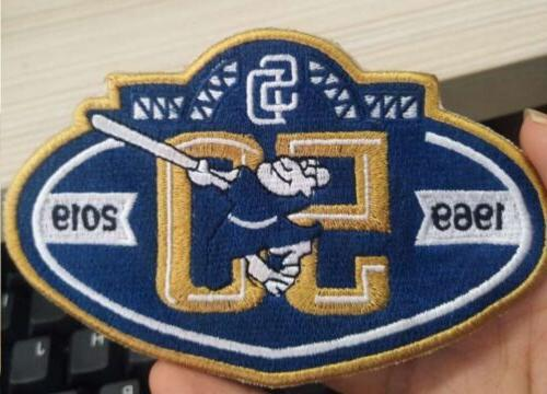 2019 san diego padres 50th anniversary patch
