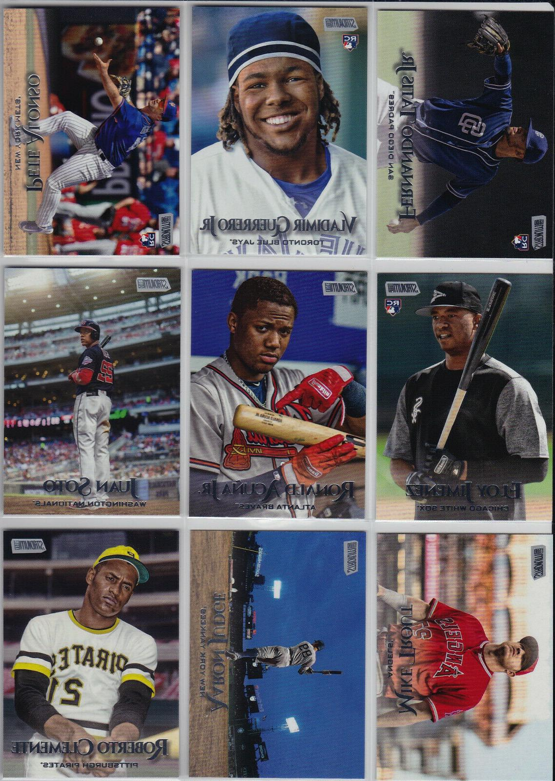 2019 topps stadium club complete base set
