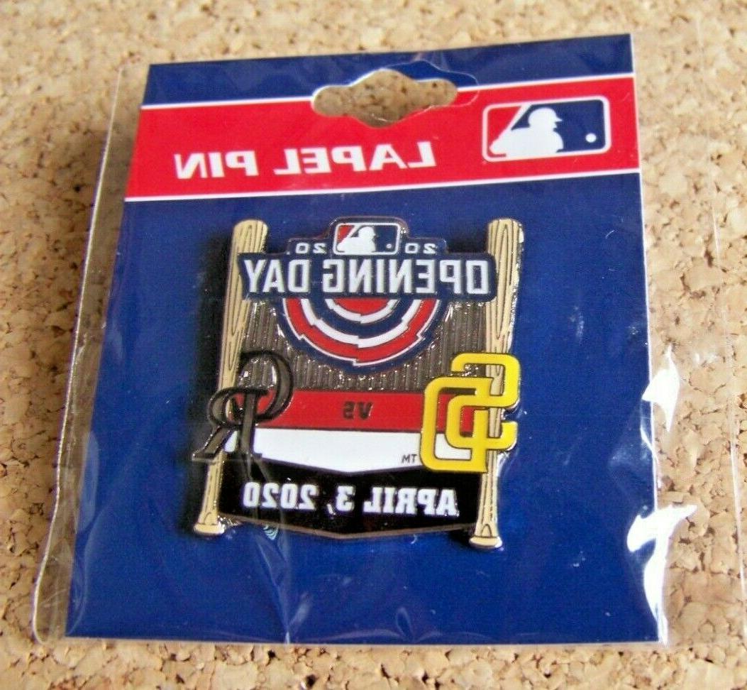 2020 San Day pin MLB var 2