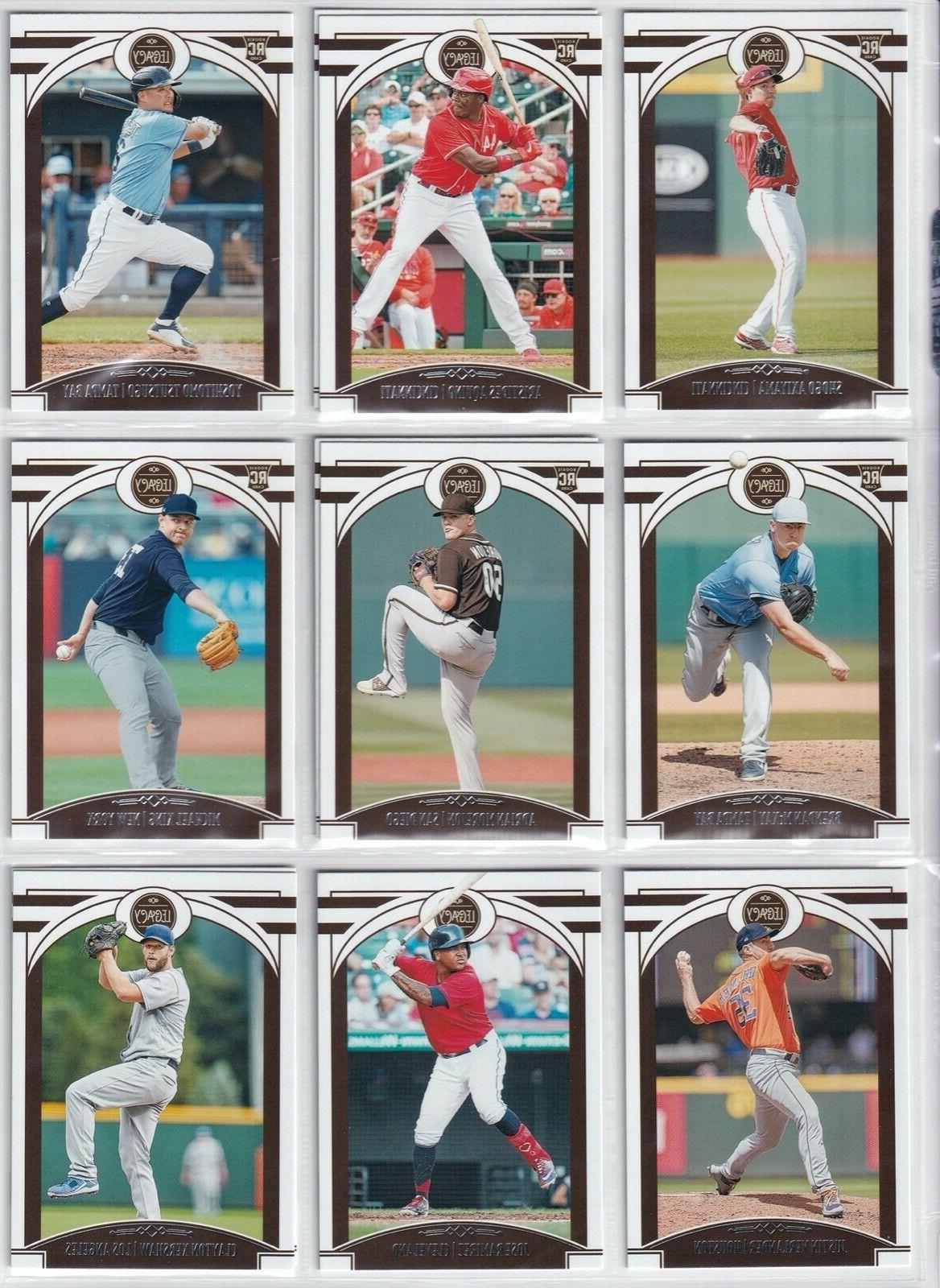 2020 panini chronicles legacy baseball you pick