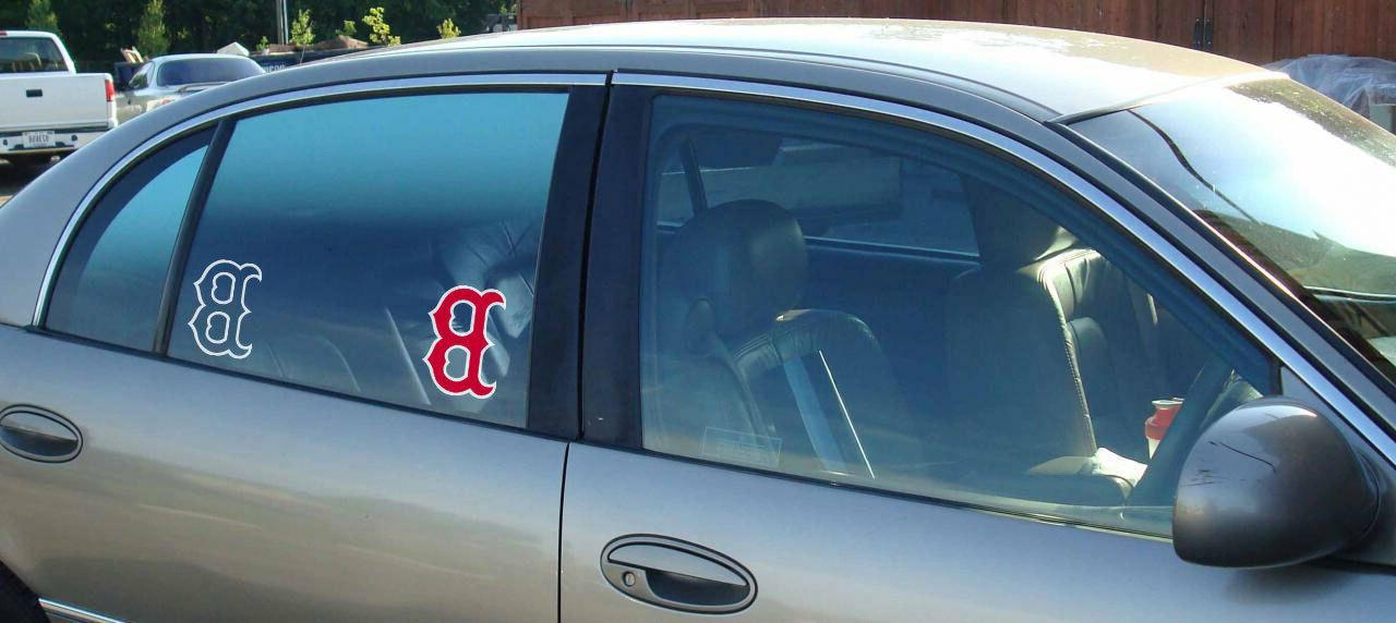 MLB window bumper sticker vinyl decals