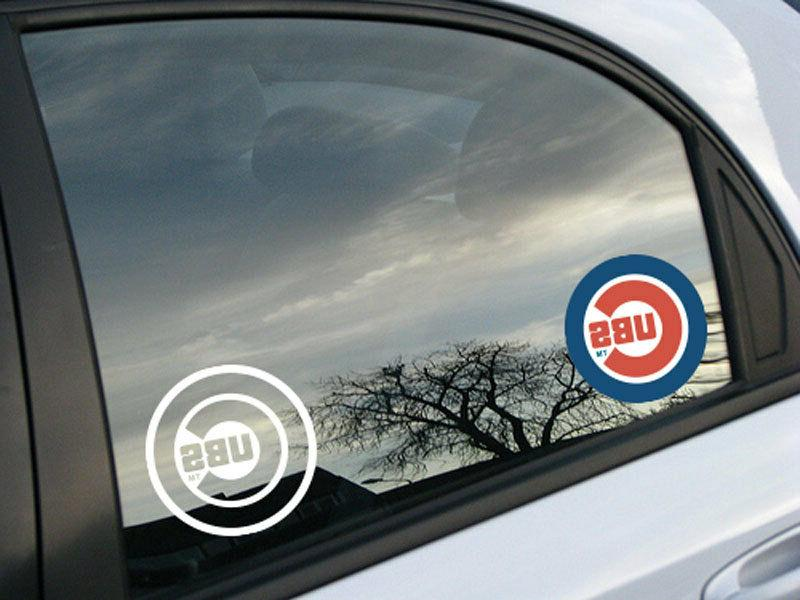 MLB Baseball window sticker