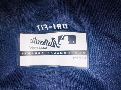MLB Sleeve Dri Fit Players Fitted Shirt