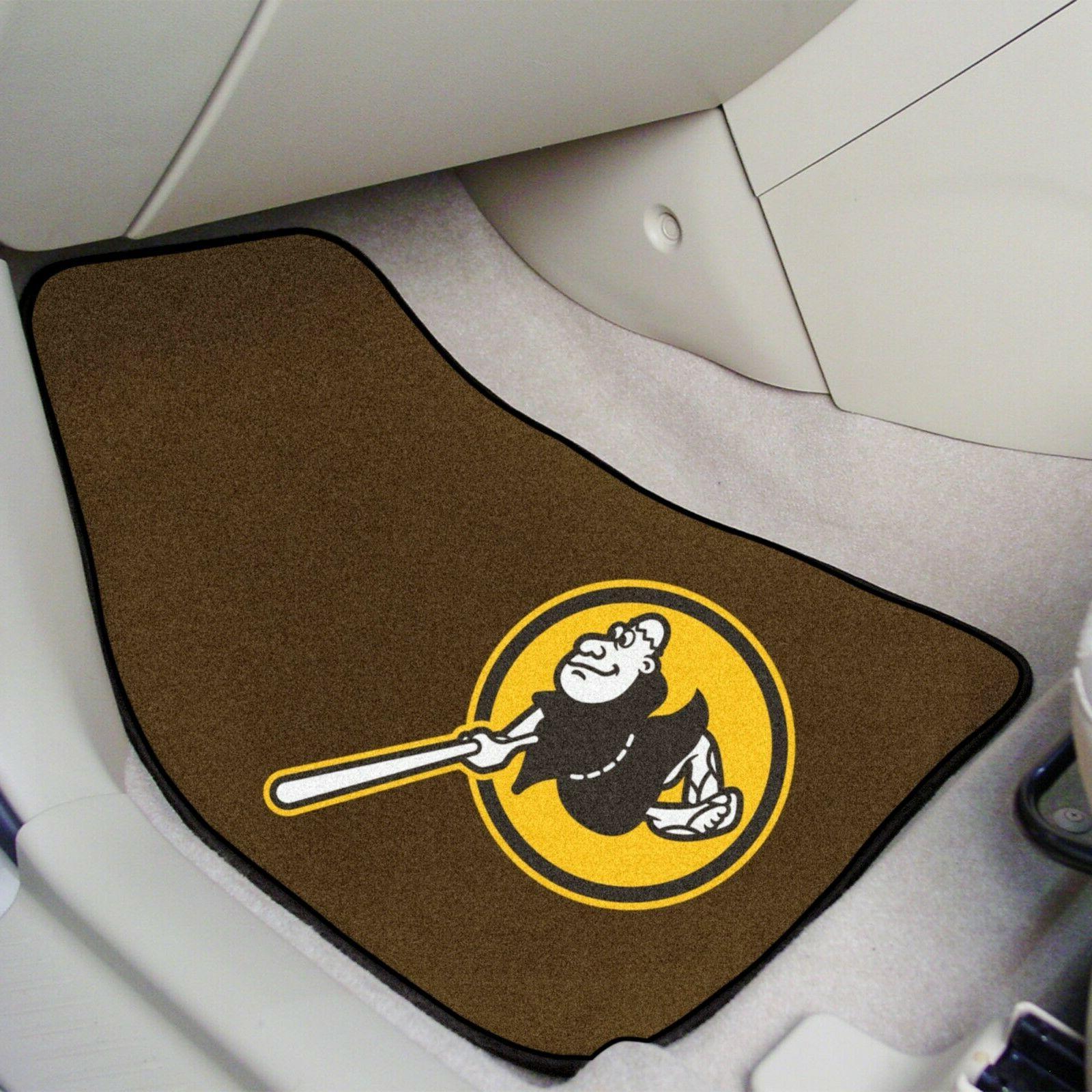 San Diego Padres Carpet Auto Floor Mats