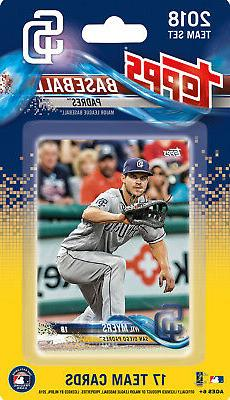 San Diego Padres 2018 Topps Factory Sealed Team Set Wil Myer