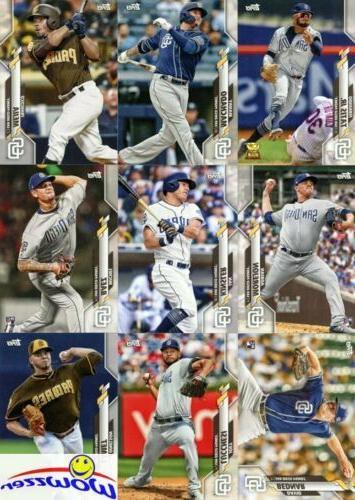 San Diego Topps Edition Card Team Set-Tatis Machado++