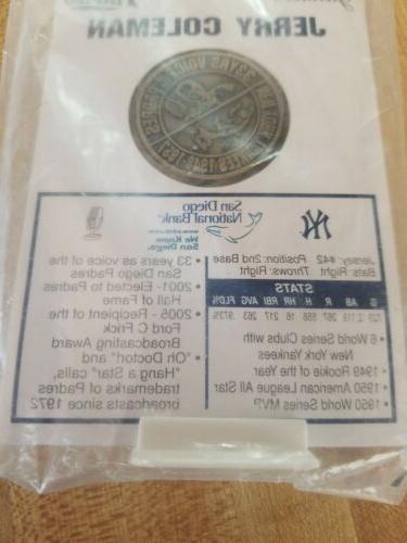 San Padres & New Yankees Col Coin
