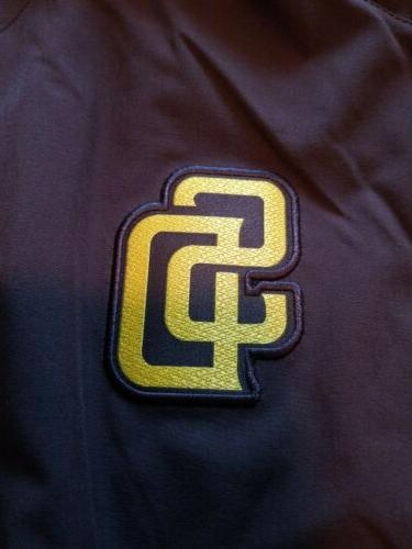 San Diego Padres Authentic Sleeve Batting Jacket XL