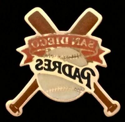 san diego padres baseball pin badge mlb