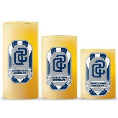 san diego padres led light candle 3
