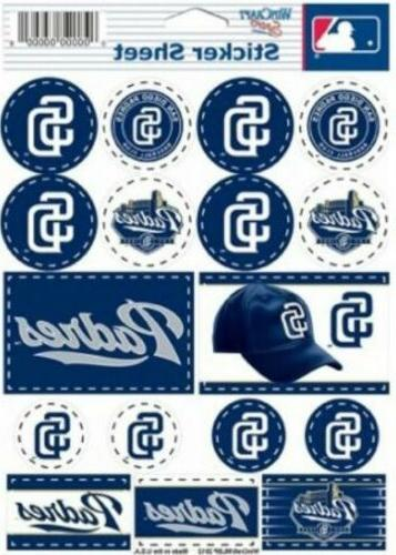 san diego padres lot of 17 stickers