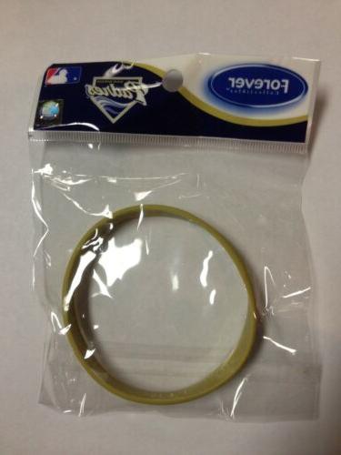 san diego padres single rubber wristband bracelet