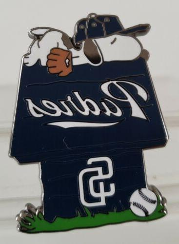 san diego padres snoopy doghouse pin great
