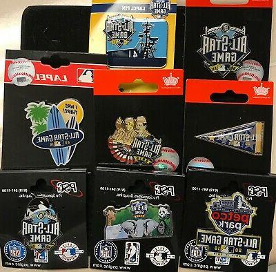 set of 8 2016 all star game