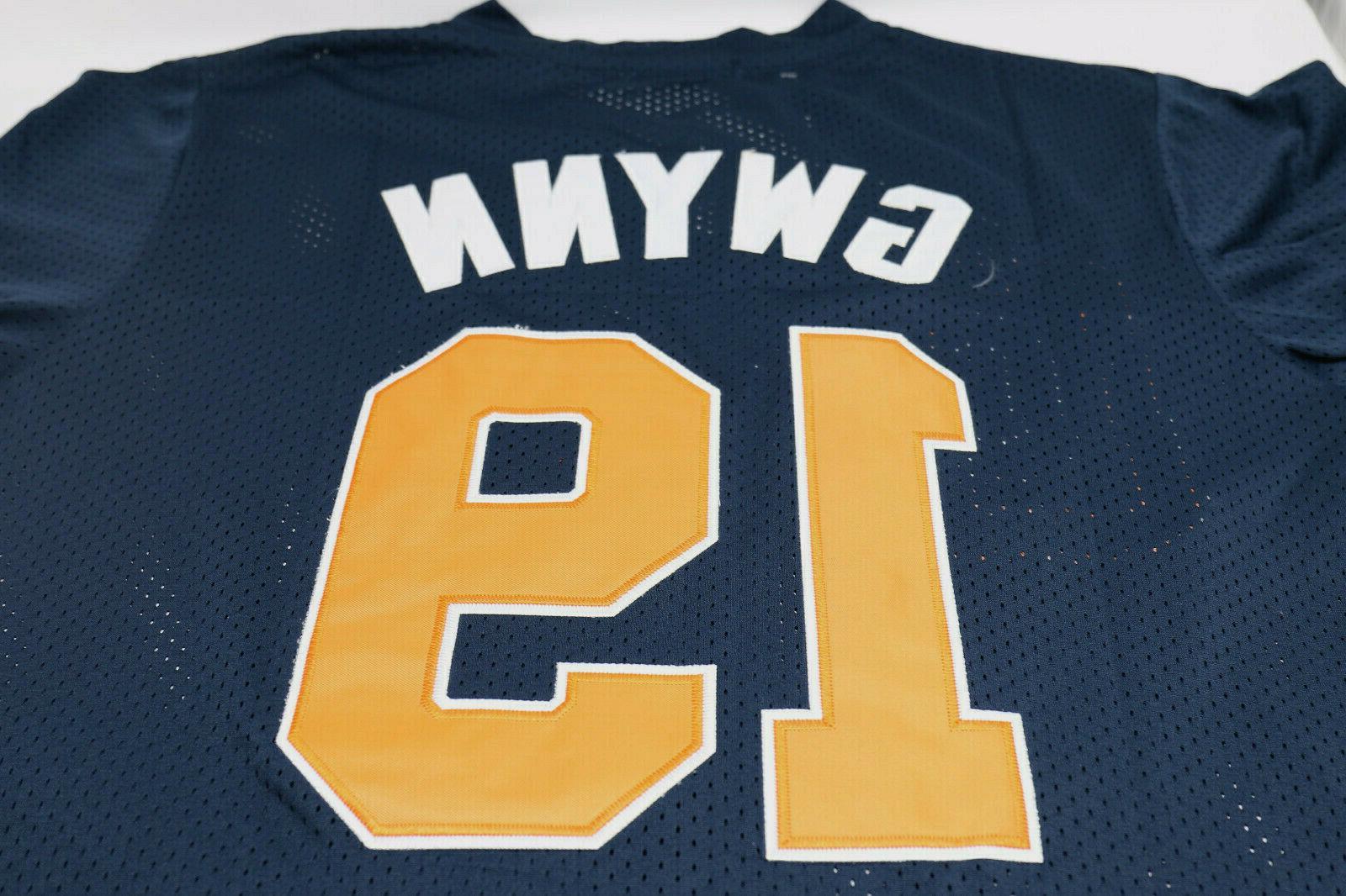 Tony Gwynn #19 San Diego Padres Navy