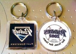 Lot of  Officially Licensed San Diego Padres Key Chains Ring