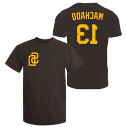 Manny Machado T-Shirt San Diego Padres MLB Soft Jersey #13