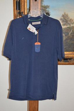 TOMMY BAHAMA Men Short Sleeve Polo Shirt SZ M MLB San Diego