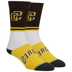 Mens Stance San Diego Padres Infiknit Color Crew Socks ~ Lar