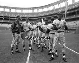 MLB 1969 San Diego Padres Inaugural Opening Day Line Up 8 x