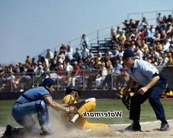 MLB 1970's San Diego Padres Cito Gaston Game Action Color 8