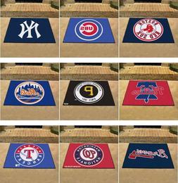 MLB Area Rugs Allstar Mat Choose Your Team