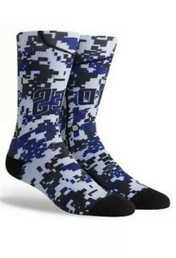 Stance MLB San Diego Padres Alt Jersey Men's Crew Socks ~ Sz