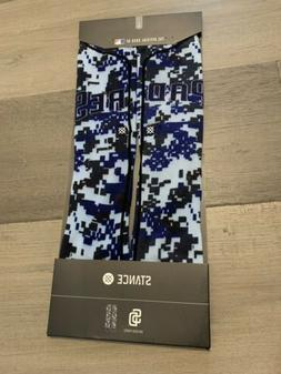 STANCE MLB San Diego Padres Camo Socks Large Size 9-12