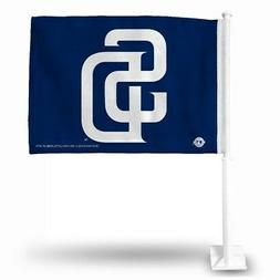 MLB San Diego Padres Car Flag, Medium, Blue