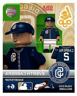 MLB San Diego Padres Everth Cabrera Generation 3 Toy Figure