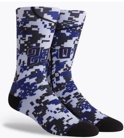 Stance MLB San Diego Padres Home Jersey Crew Socks Men's S