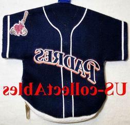 MLB San Diego Padres Jersey I.D Key Money Pouch Rare Sports