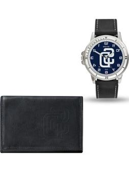 MLB San Diego Padres Leather Watch/Wallet Set by Rico Indust