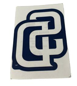 MLB San Diego Padres Logo Baseball Indoor Decal Sticker Free