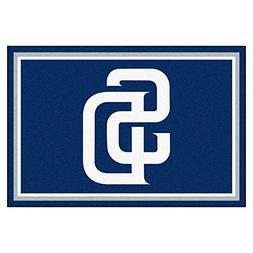 FANMATS MLB San Diego Padres Nylon Face 5X8 Plush Rug