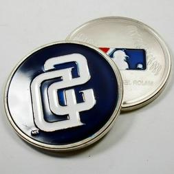 MLB San Diego Padres Poker Chip Card Guard Challenge Coin Go